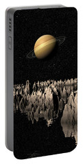 Planet Saturn Portable Battery Charger