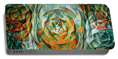 Portable Battery Charger featuring the photograph Plant Abstract by Wayne Sherriff