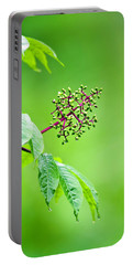 Elderberry In Rain Portable Battery Charger