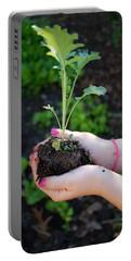 Planting Season Portable Battery Charger