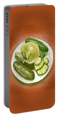 Plate Of Pickles Portable Battery Charger
