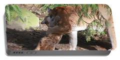 Portable Battery Charger featuring the photograph Playful Hugs by Laddie Halupa