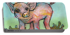 Playful Piglet Portable Battery Charger