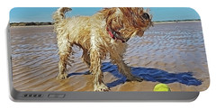 Playful Puppy Portable Battery Charger