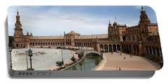 Portable Battery Charger featuring the photograph Plaza De Espana 4 by Andrew Fare