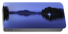 Pleasant Bay At Dusk Portable Battery Charger