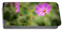 Pleasant Summer Wild Flowers Portable Battery Charger