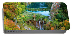 Plitvice Lakes In Croatia Portable Battery Charger