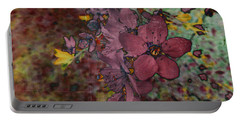 Portable Battery Charger featuring the photograph Plum Blossom by LemonArt Photography