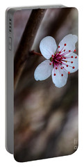 Plum Flower Portable Battery Charger