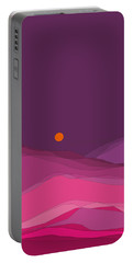 Plum Hills II Portable Battery Charger by Val Arie