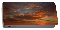 Plum Island Sunrise Portable Battery Charger