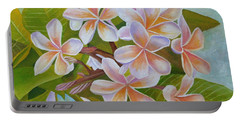 Plumeria Portable Battery Charger