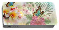 Plumeria Dreams Portable Battery Charger