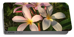 Plumeria Heaven Portable Battery Charger
