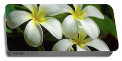Plumeria Trio Portable Battery Charger