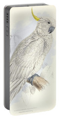 Plyctolophus Galeritus. Greater Sulphur-crested Cockatoo. Portable Battery Charger