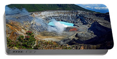 Poas Volcano Portable Battery Charger