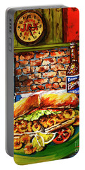 Po'boy Time Portable Battery Charger