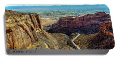Pocket Size Grand Canyon Portable Battery Charger