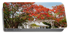 Poinciana Cottage Portable Battery Charger