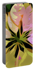 Poinsettia Tile Portable Battery Charger