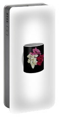 Poinsettia Tricolor Mug  Portable Battery Charger