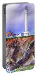 Point Arena Lighthouse California Shore Portable Battery Charger