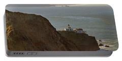 Point Bonita Lighthouse In San Francisco Portable Battery Charger