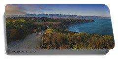 Point Dume Sunset Panorama Portable Battery Charger