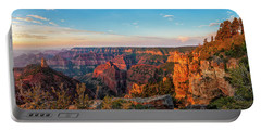 Point Imperial Sunrise Panorama II Portable Battery Charger by David Cote