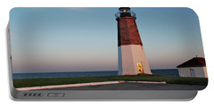 Point Judith Lighthouse Rhode Island Portable Battery Charger