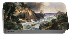 Point Lobos Monterey California Portable Battery Charger