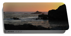 Point Lobos Sunset Portable Battery Charger