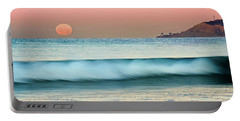 Point Loma Moonset Portable Battery Charger