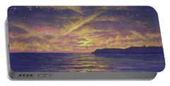 Point Loma Sunset 01 Portable Battery Charger