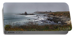 Portable Battery Charger featuring the photograph Point Montara Lighthouse by David Bearden