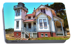 Portable Battery Charger featuring the photograph Point San Luis Lighthouse by Floyd Snyder