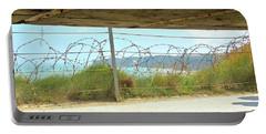 Pointe Du Hoc Bunker Portable Battery Charger