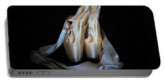 Pointe Shoes1 Portable Battery Charger by Laurianna Taylor