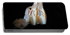 Pointe Shoes3 Portable Battery Charger by Laurianna Taylor