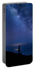 Portable Battery Charger featuring the photograph Pointing To The Heavens by Susan Rissi Tregoning