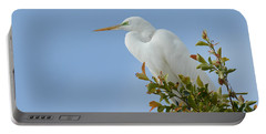 Portable Battery Charger featuring the photograph Poised 2 by Fraida Gutovich