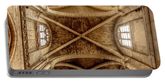 Poissy, France - Ceiling, Notre-dame De Poissy Portable Battery Charger