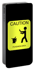 Portable Battery Charger featuring the digital art Pokemon Area by Shane Bechler