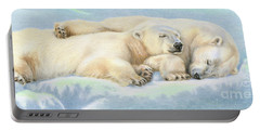 Polar Bear Love Portable Battery Charger