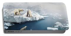 Polar Bears Portable Battery Charger
