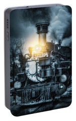 Portable Battery Charger featuring the photograph Polar Express by Darren White
