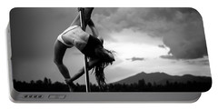 Pole Dance 1 Portable Battery Charger