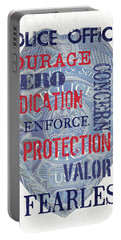 Police Inspirational 1 Portable Battery Charger